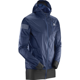 Salomon Fast Wing Hybrid Jacket Men Dress Blue/Black